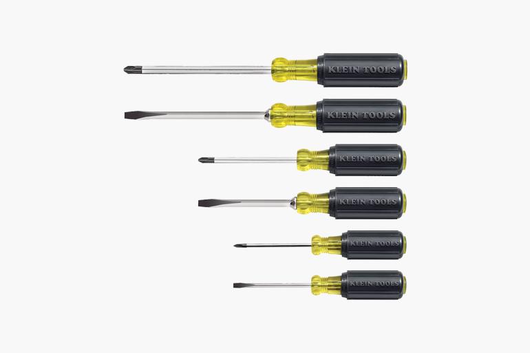 Klein Tools Cushion Grip Screwdriver Set